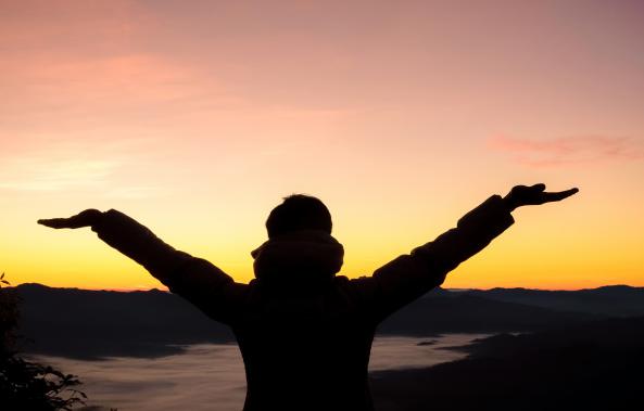 كيف أكون إنسان إيجابي في حياتي Outdoor Celestial Olivia Baker