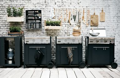 Let the BBQ party started: Great outdoor kitchen