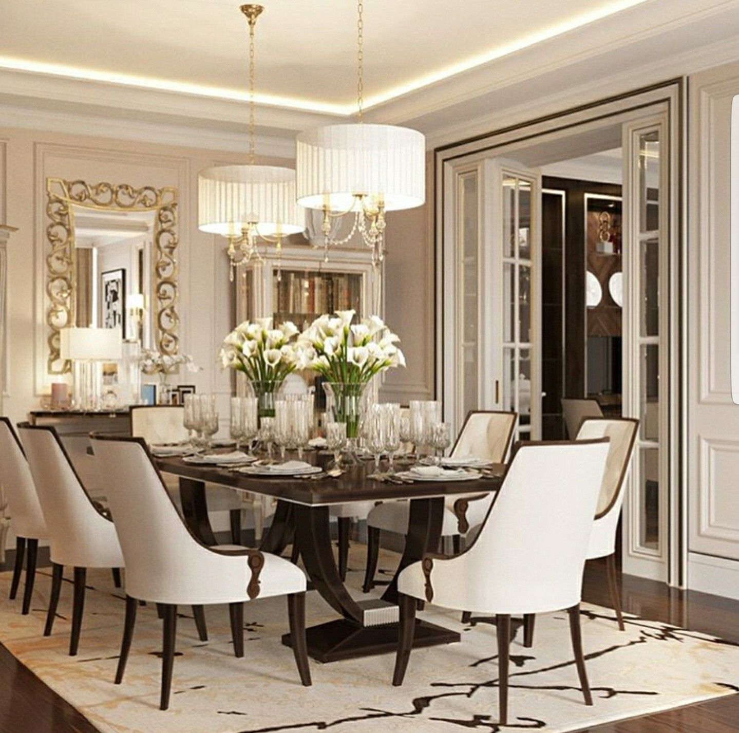 Pin By Anita K On Home Ideas Etc With Images Luxury Dining