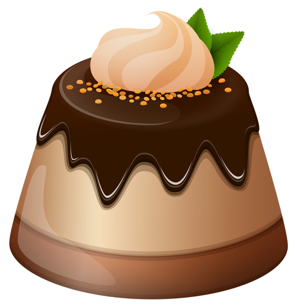 Chocolate Mini Cake PNG Clipart Image