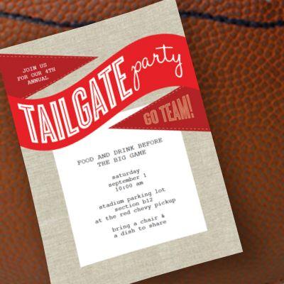 Football Tailgate Invitation Printable, tons of free ...