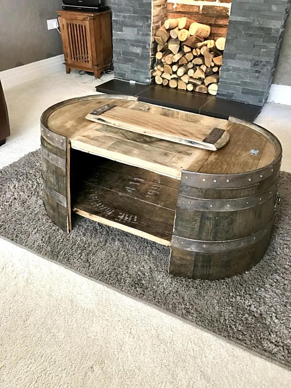 Large Coffee Table Rustic Solid Oak