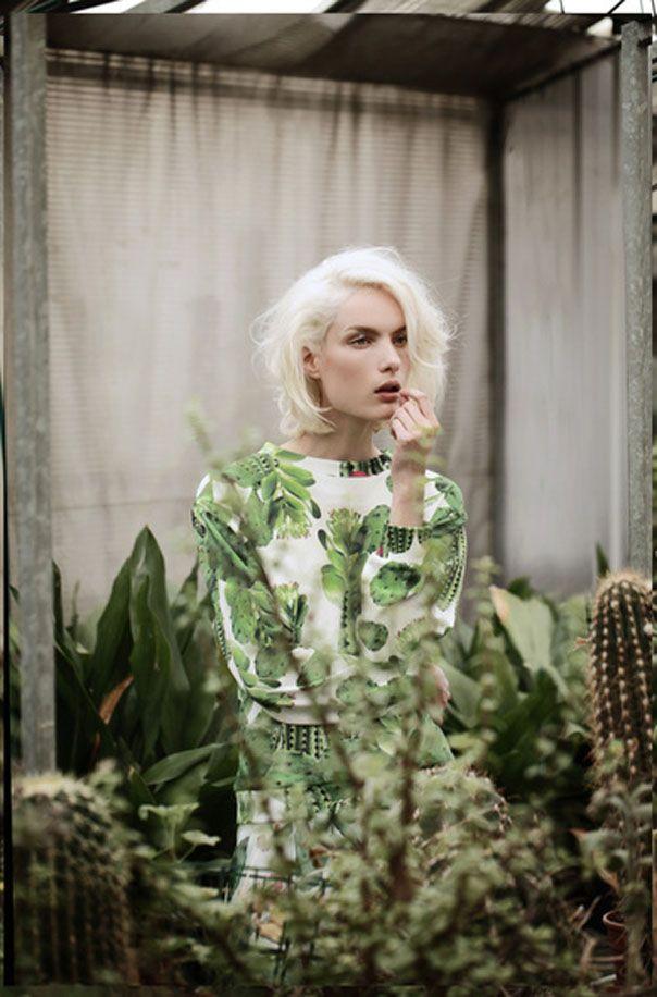 BabylonLab » It girl y su marca de moda.Total Look Cactus What's Inside You SS14 Collection Photo by Sara Mautone