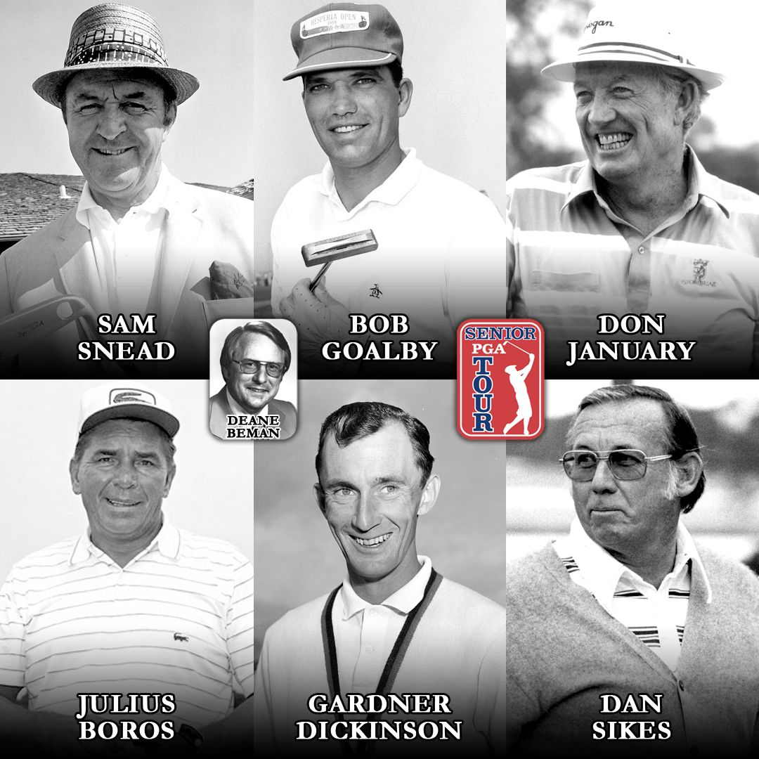 This week in golf history, the Senior PGA Tour (now the