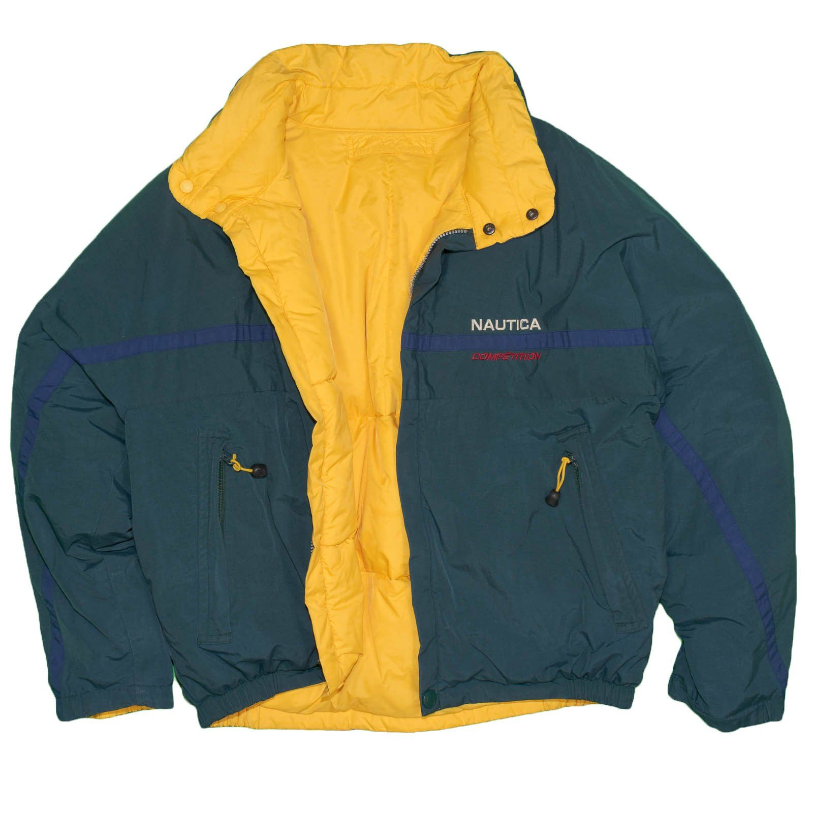 Nautica Competition Men S Jacket Large Vintage 100 Duck Down 1990 S R Itisvintage Nautica 1990s Puffer Mens Jackets Usa Shirt Vintage Clothing For Sale