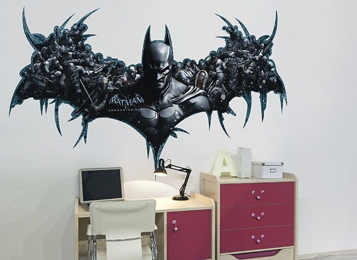 The Dark Knight Has A City To Protect In This Wall Ah! Wall Decal
