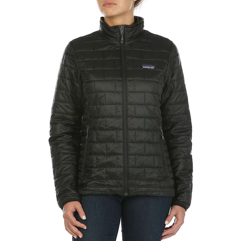Patagonia Women s Nano Puff Jacket - strait blue or navy in medium ... df984833c