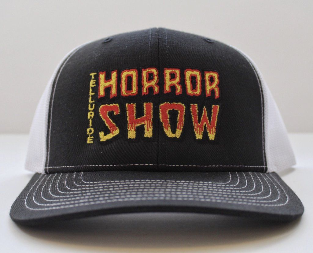 Pin By Gargoyle S Gift Shop On Telluride Horror Show Hats Horror Show Hats Embroidered