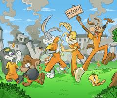 Boscoloandrea Professional Digital Artist Deviantart Cartoon Crossovers Old Cartoons Cartoon Painting