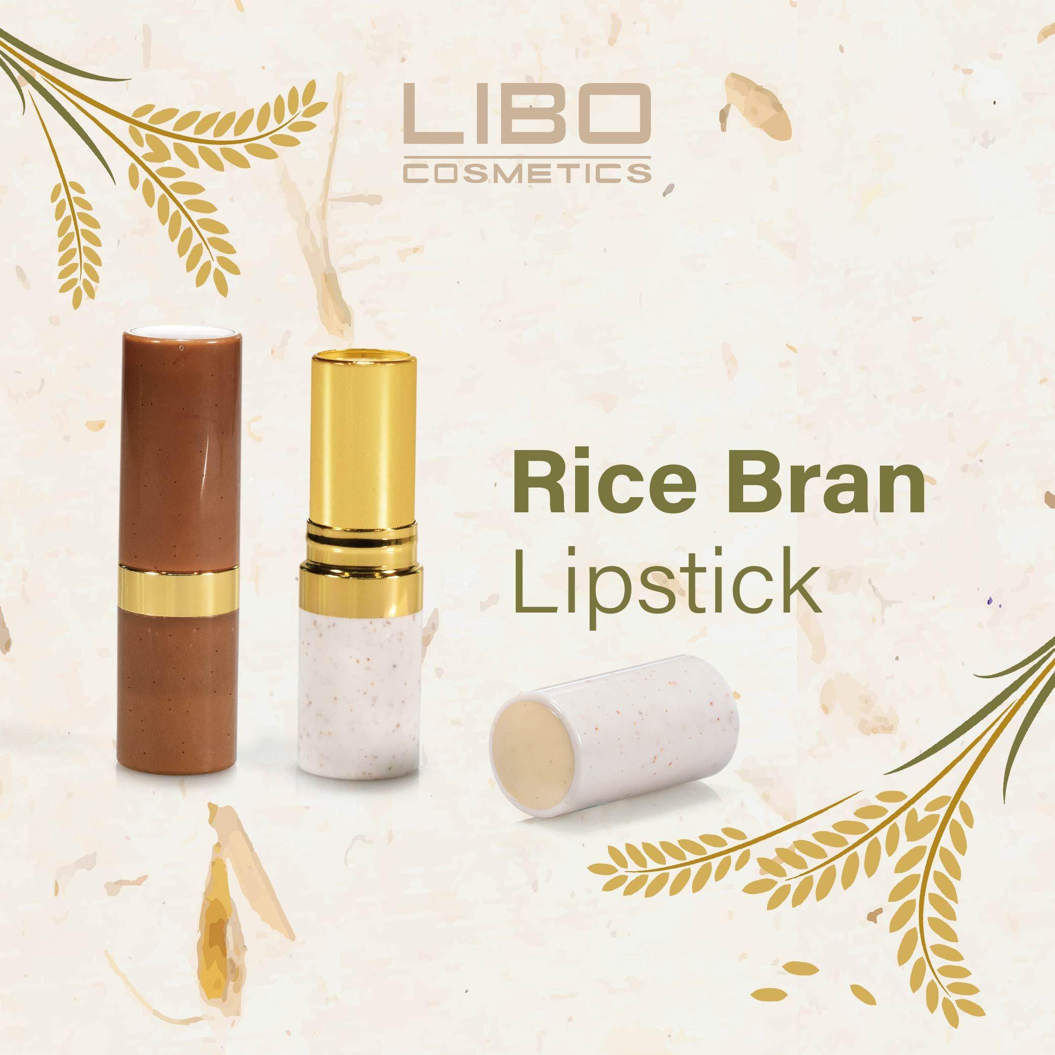 Rice Bran Lipstick in 2020 Custom lipstick, Cosmetic