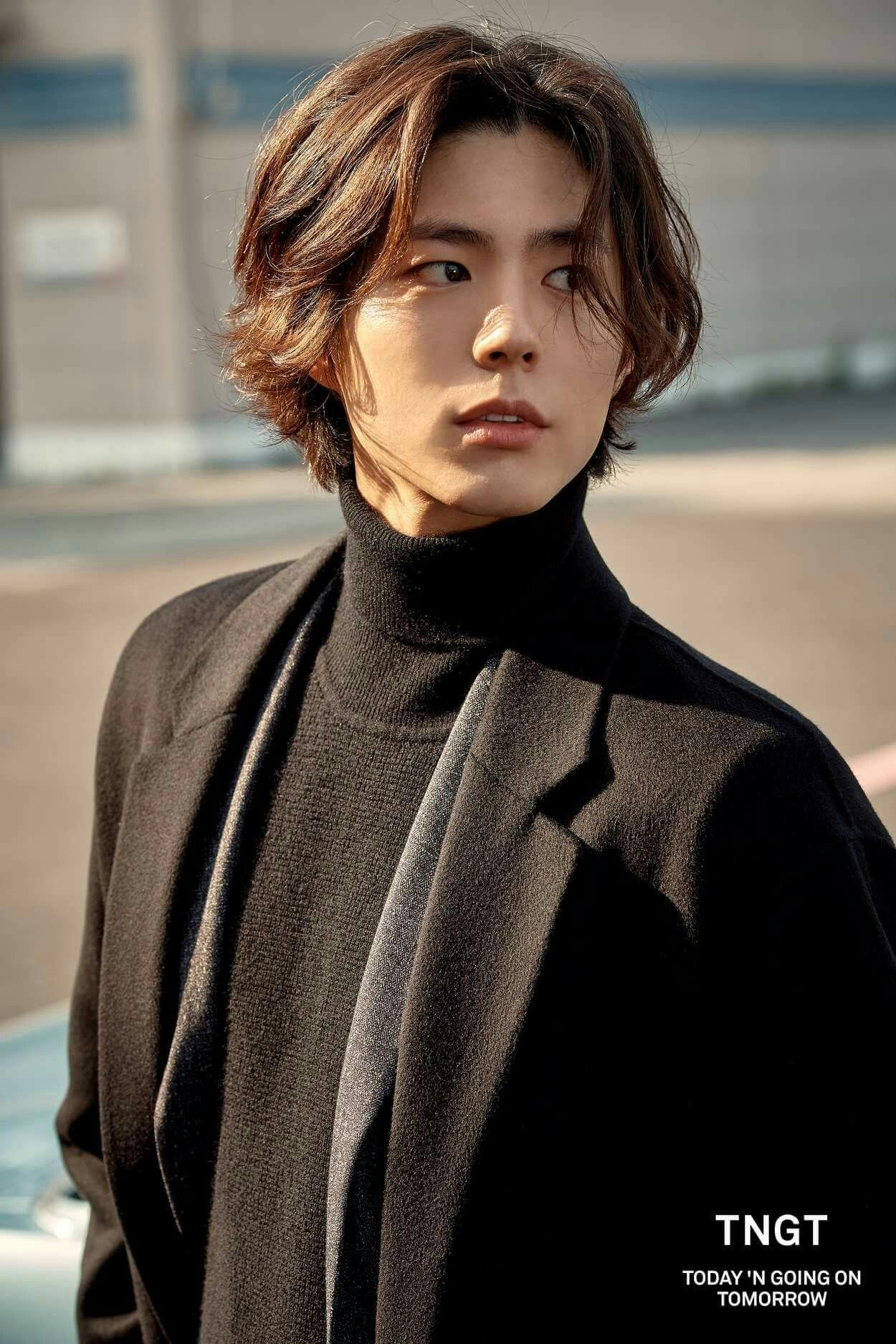 Park Bo Gum (박보검)에 있는 ♥P♥님의 핀 머리, 남자 머리, 남자 긴 머리