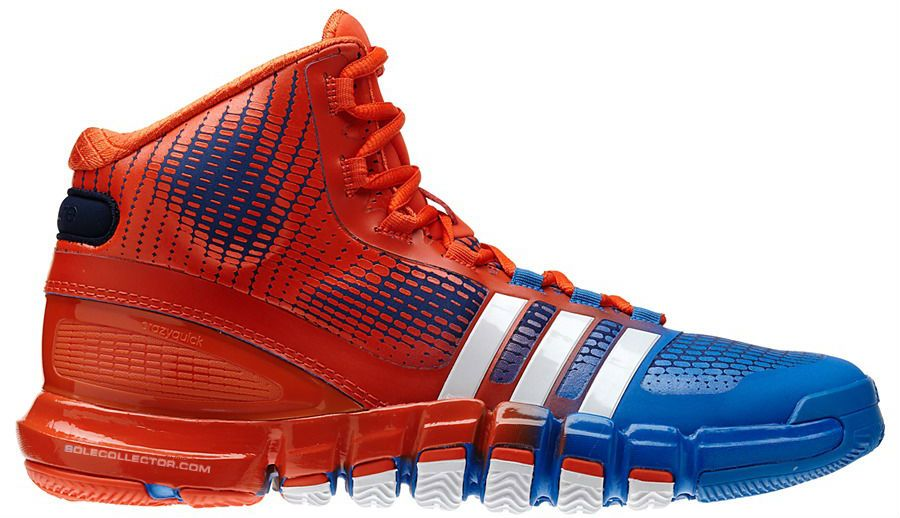 best website 2e933 a6e2c ... adidas Crazyquick Orange Blue Knicks ...