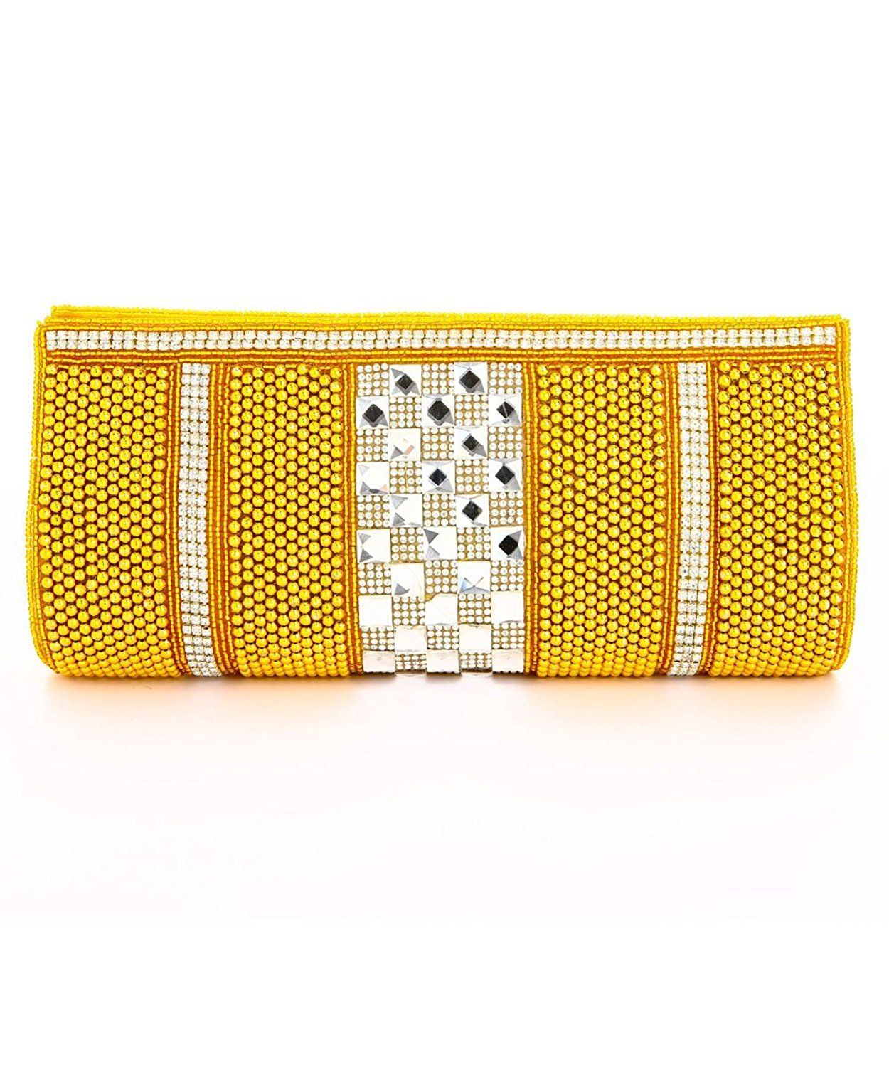 89703d55efe1 LadyBugBag Golden Silk Designer Clutch - LBB10047 -- Special product just  for you. See it now! - amazon affiliated pin