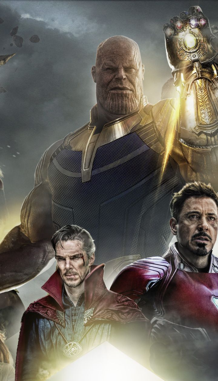 awesome wallpaper Avengers infinity war 2018 movie poster