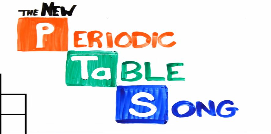 Periodic Table Song Funny Trending Video To Teach You The New - new periodic table image