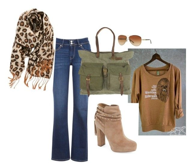 """""""Weekend ease by gg"""" by mikeshehan on Polyvore featuring Levi's, BP., Jessica Simpson, Will Leather Goods and Tiffany & Co."""