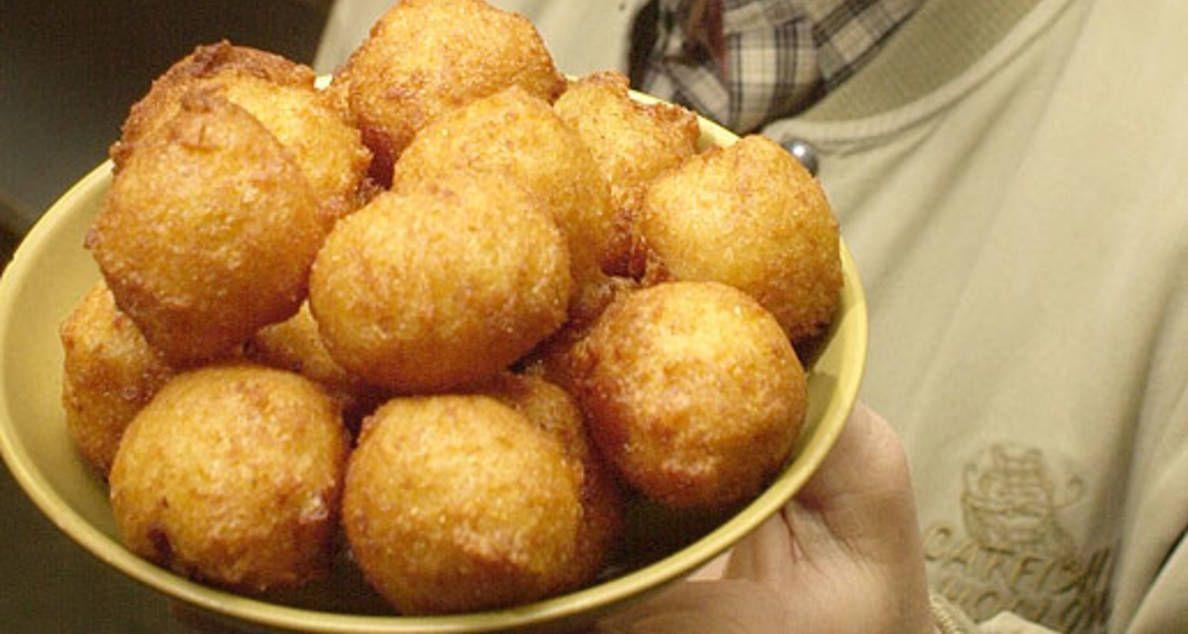 Sweet Corn Hush Puppies Hush puppies recipe, Recipes, Food