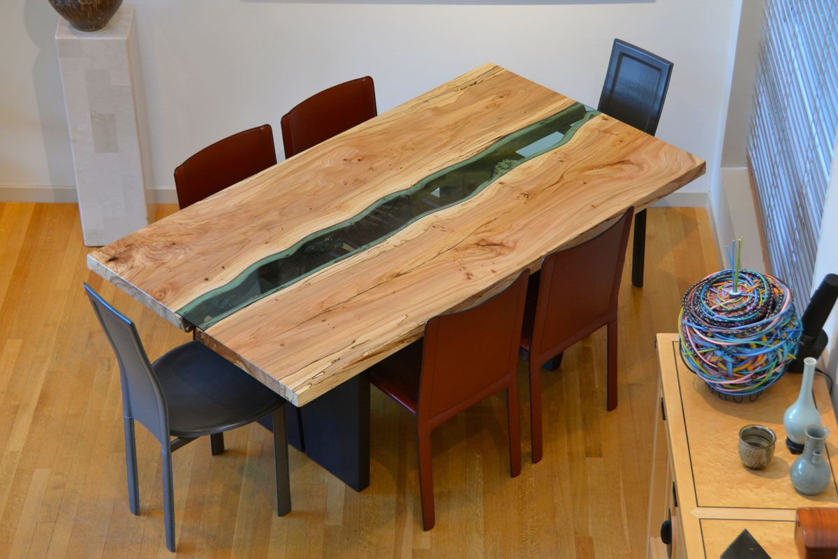 Greg Klassen Furniture Maker Berg River Dining Table | My Work ...