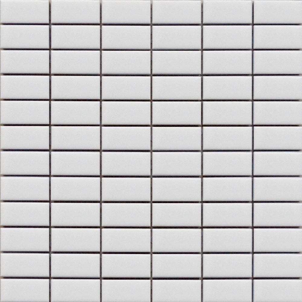 White Rectangle Mosaic Tiles for floors and walls White Rectangle ...
