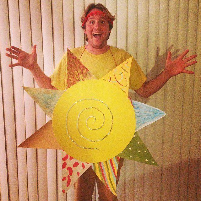 Homemade Sun Costume Easy Craft Ideas