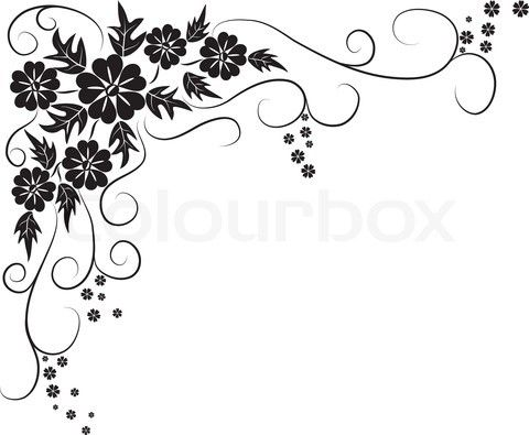 Vector Of Outline Border