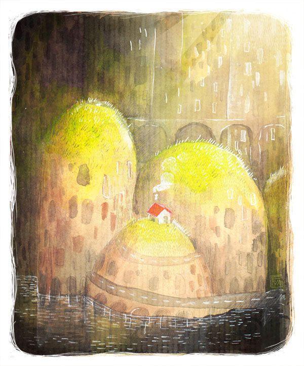 Illustrazione di Florianes Grivilles