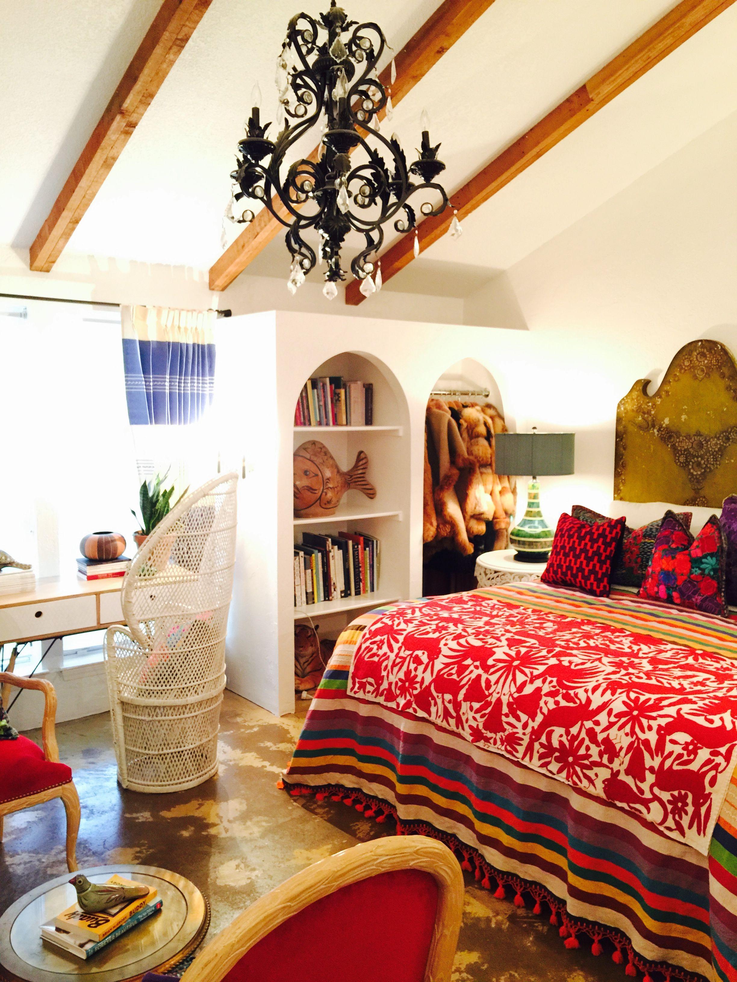 modern mexican bedroom design DREAMING OF MEXICO | Atlantis Home | boho, gypsy, hippie