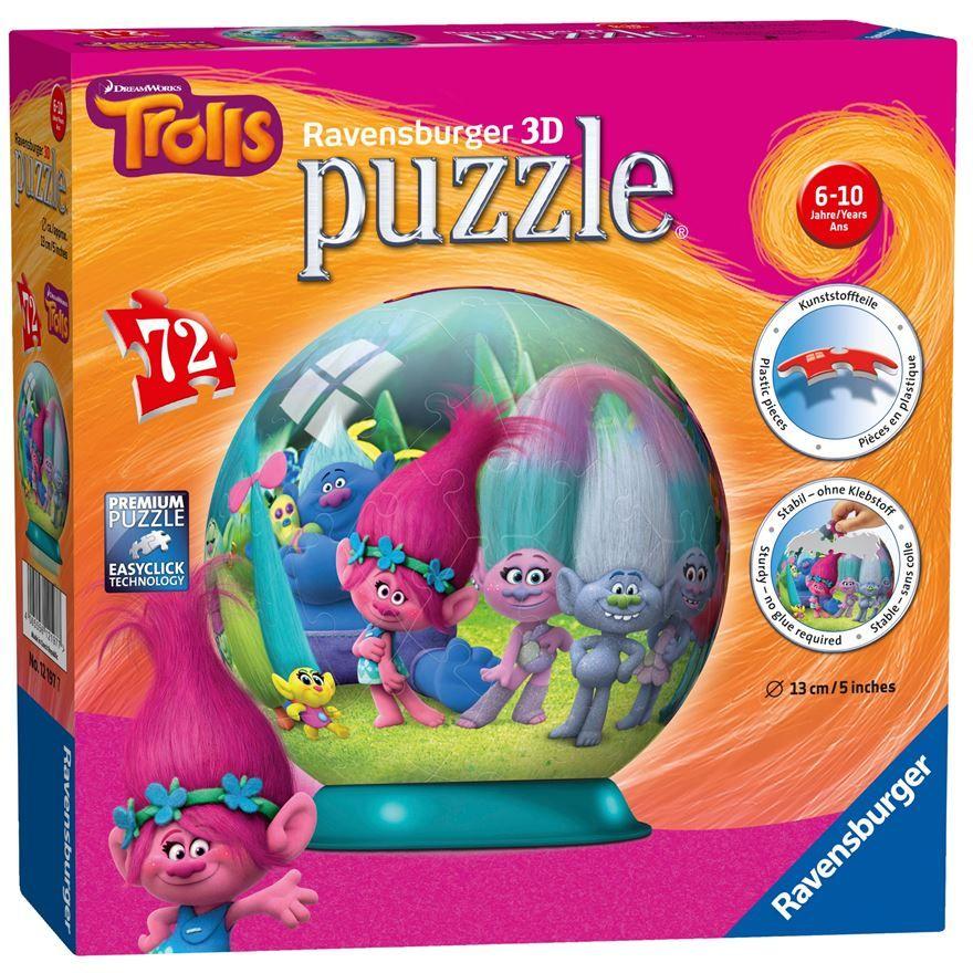 Awesome Ravensburger Trolls pc D Jigsaw Puzzle Trolls UK