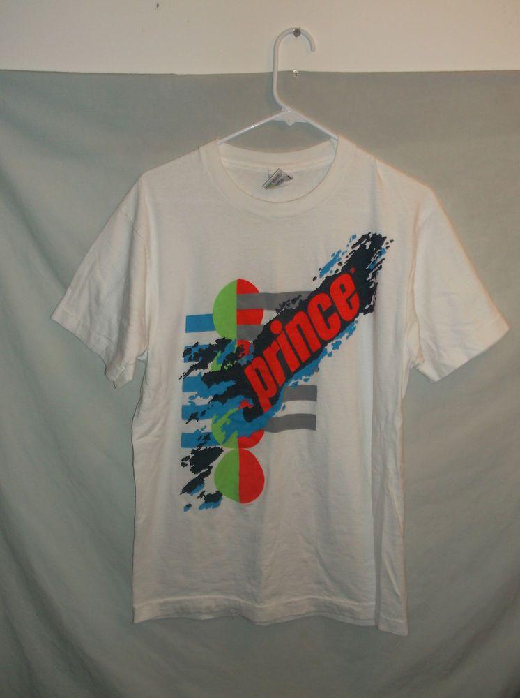 2854f60842 Prince Tennis - Vintage T-Shirt - 1990s | Sports Wear | Mens tops ...