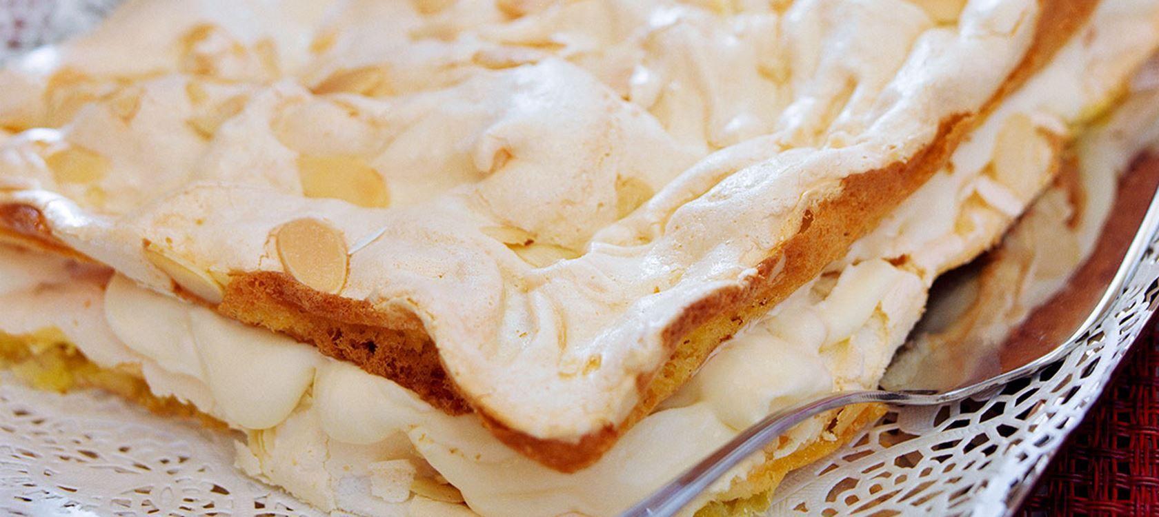 Marängtårta med citron Recept Arla Mat, Läcker mat