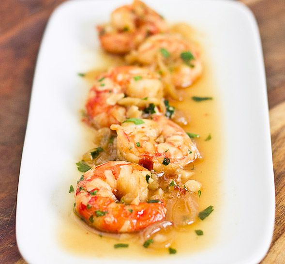 Spicy drunken shrimp bay leaves red peppers and parsley spicy drunken shrimp food networktrishasea forumfinder Image collections