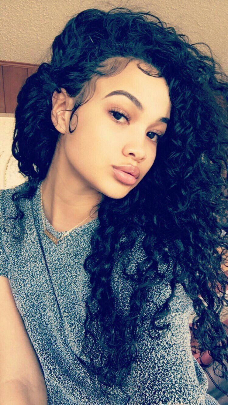 Pin by  TheRealCali  on Pretty Girls  Pinterest  Curly