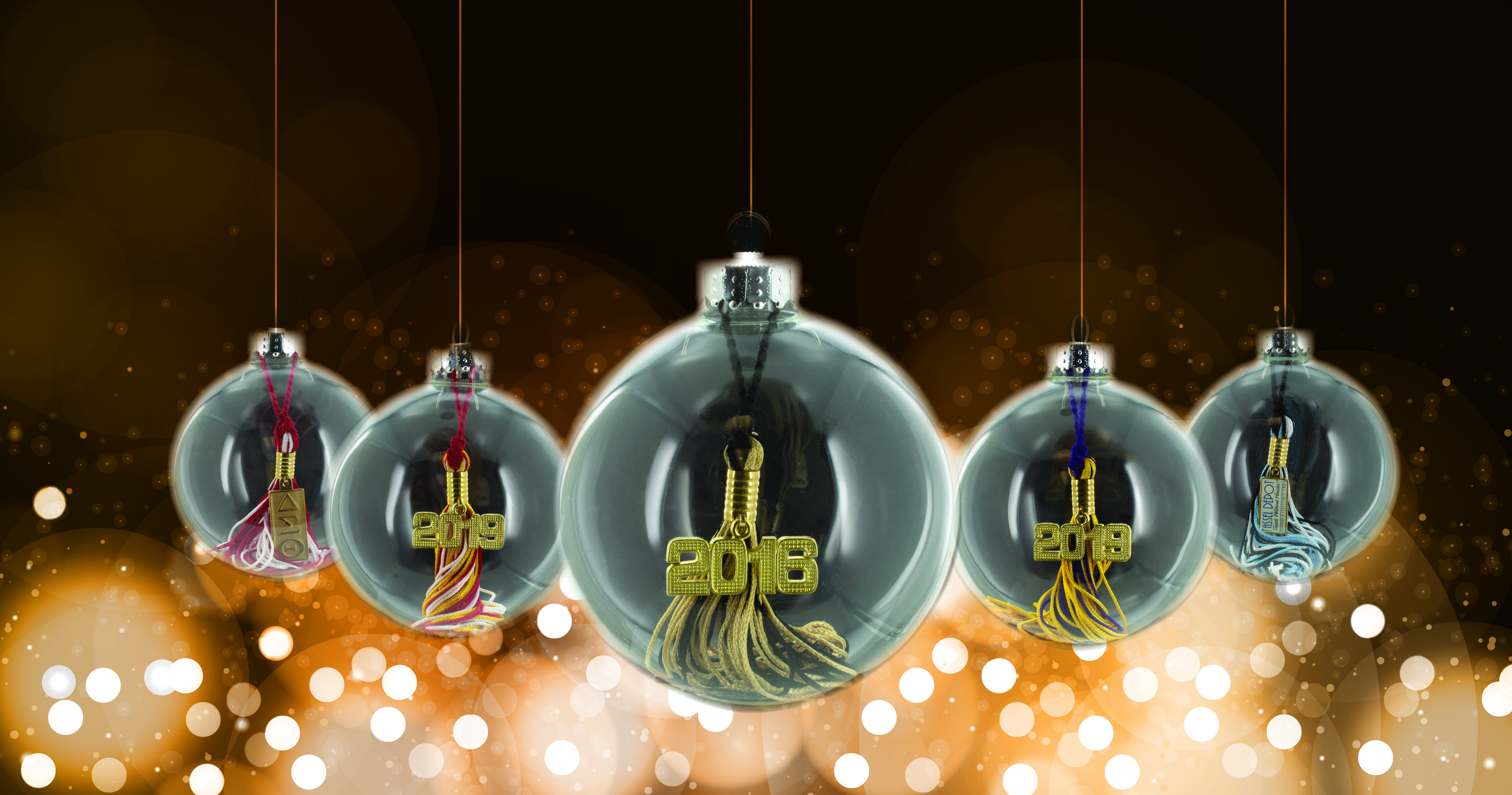 For a limited time, Tassel Depot®, is offering an incentive program on its popular graduation tassel ornaments. If you order on-line before November 1, 2016, you will receive 10% off. These ornaments can be  customized with any school color and year date.  Use Promo Code  gradorn1016 during checkout to ensure 10% off!