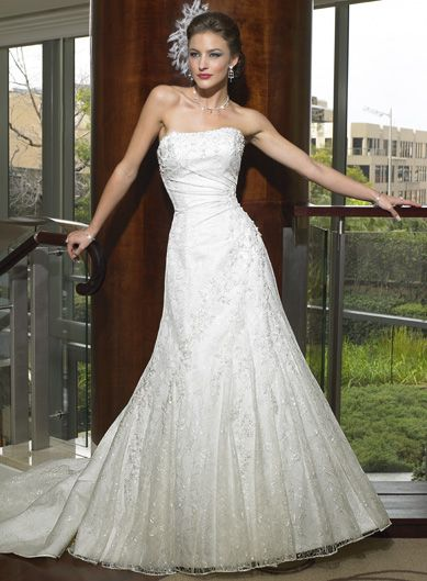 Maggie Sottero Vienna - It\'s the one... Covered in Chantilly Lace ...