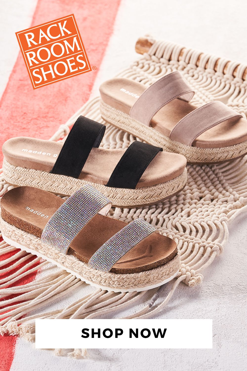 c5543d7c018 Take your sandal collection to new heights with new styles available at Rack  Room Shoes.