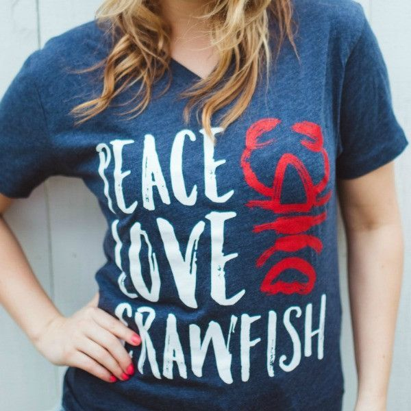 Download This is our kind of crawfish t-shirt! Cotton/Poly Jersey ...