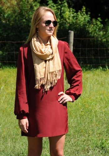 Mandi Dress from YT clothing. PERFECT for fall! love all the different color options #YT