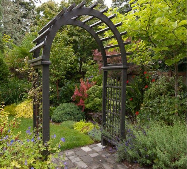 Great Garden Entrance Arbor Designs