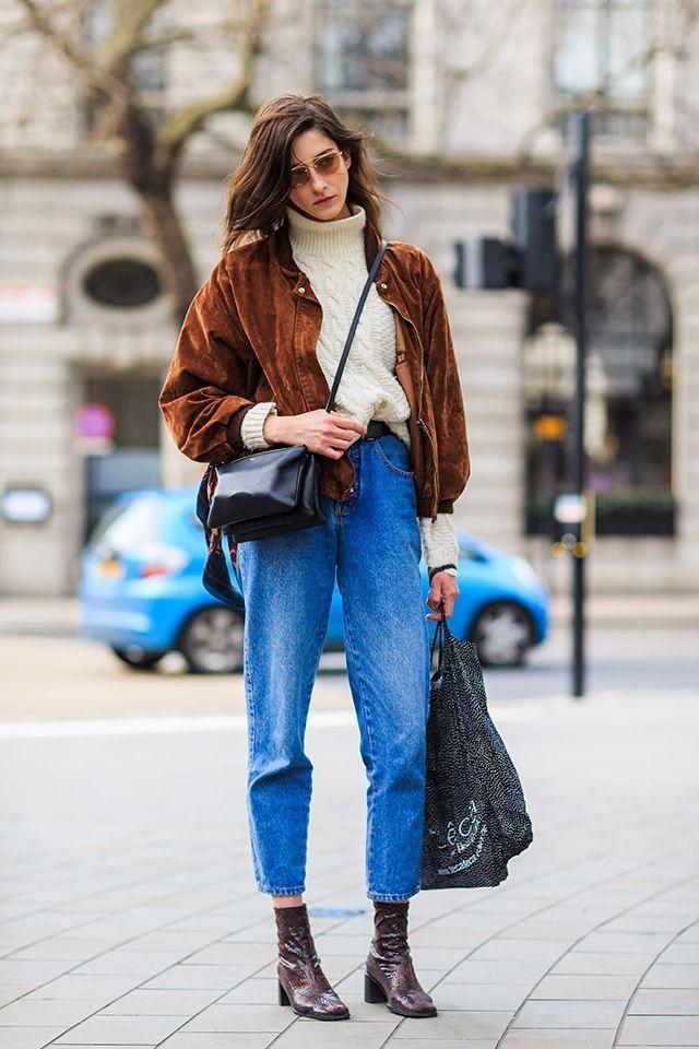 Le mix de l'hiver 2015 : jean vintage et bottines #fashion2015