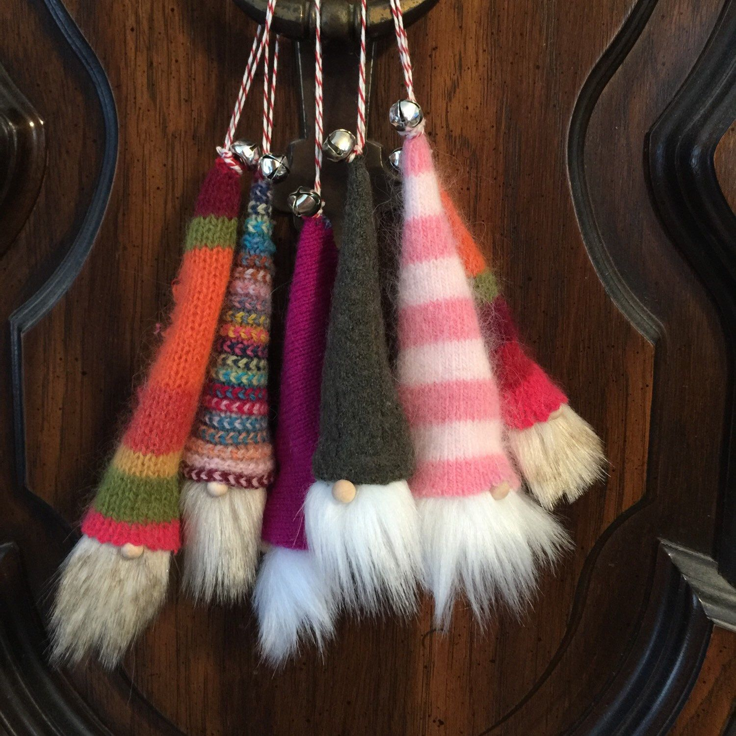 Gnome ornaments are ready for your tree! Gnomes crafts