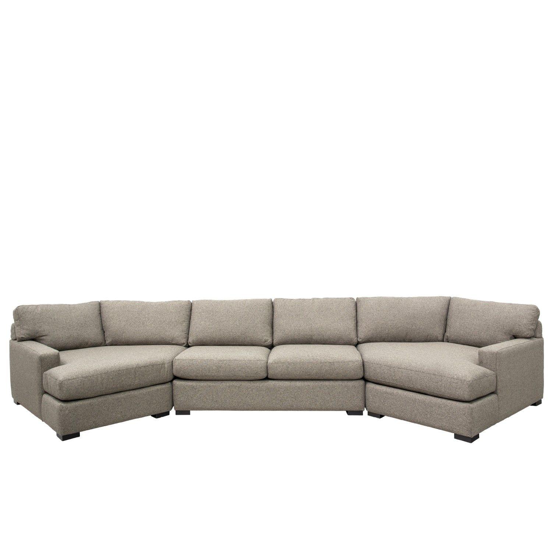 Fabulous Bardo Double Cuddler Sectional Living Room Sofas Cuddler Interior Design Ideas Gentotryabchikinfo