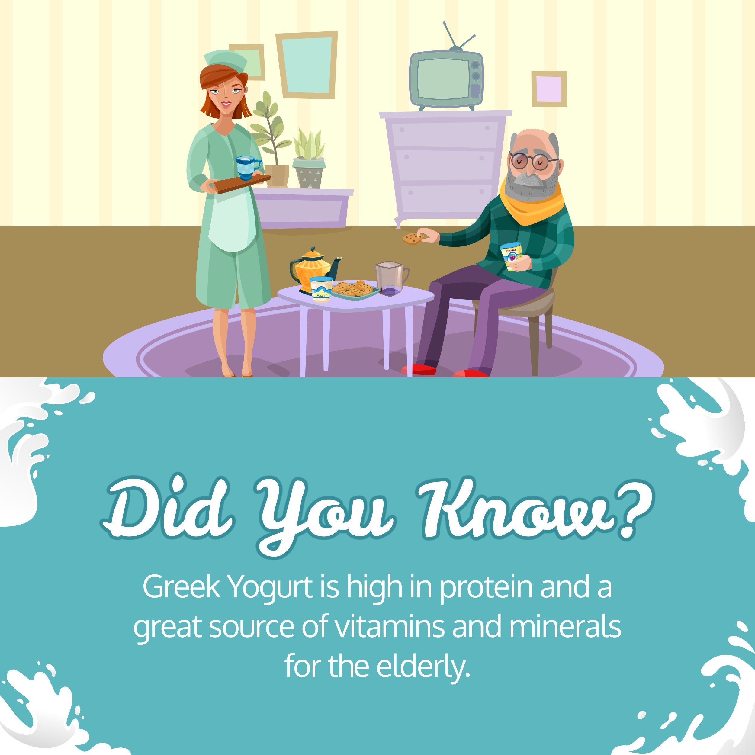 Did You Know? Yogurt MOGHomeHealthCareServices Home