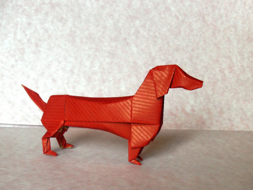 Must Learn How To Make Thisorigami Dachshund Dachshunds