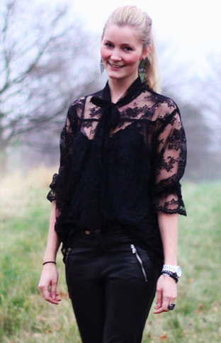 Munthe Plus Simonsen 'Rilla' blouse (from blogger Passion For Fashion)