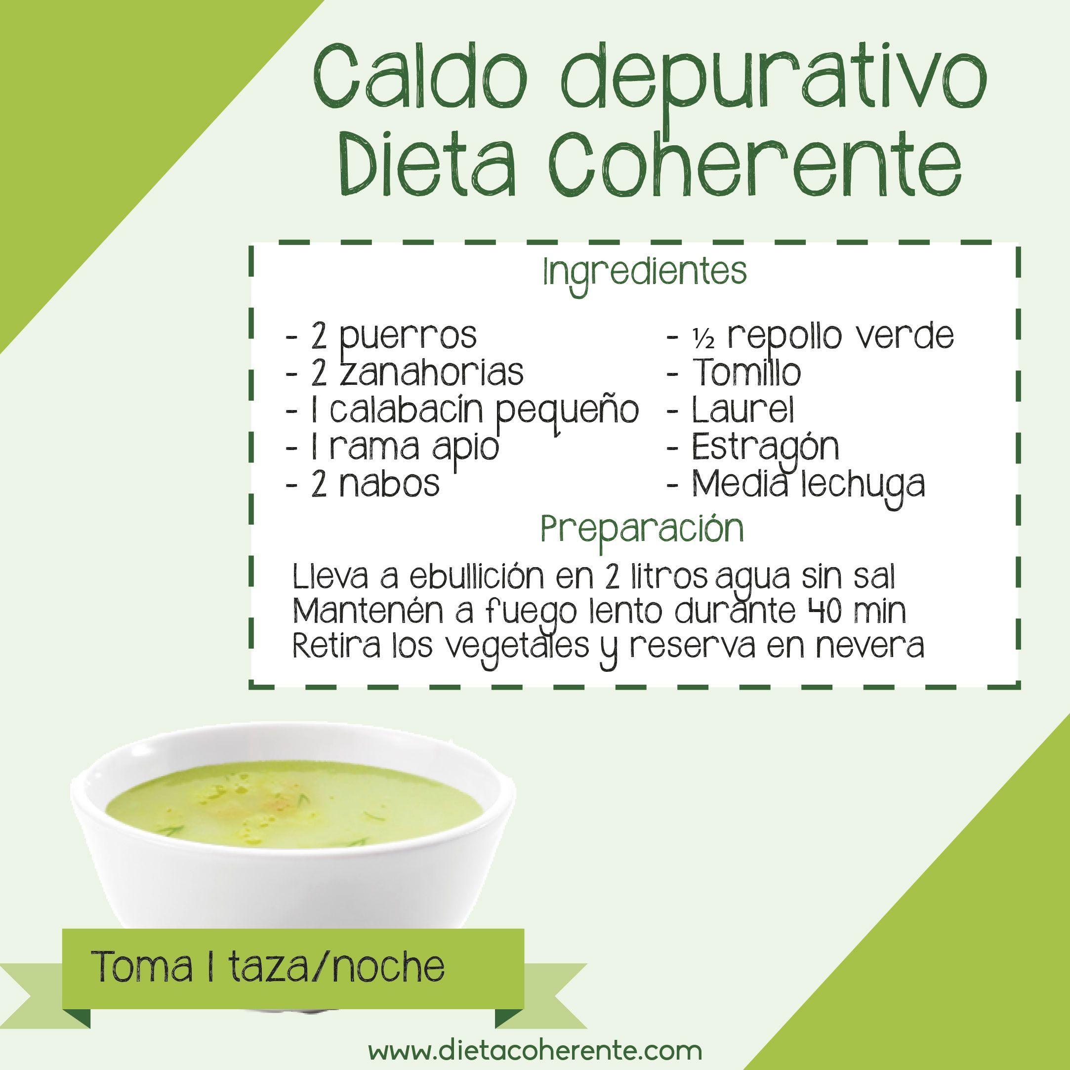 receta sopa verde para adelgazar