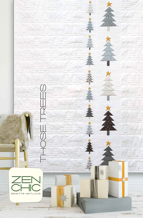Zen chic | Quilts | Pinterest | Navidad, Bordado and Mantas