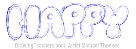 Bubble Letters 5 Bubble Letters Bubble Letter Fonts Graffiti Lettering