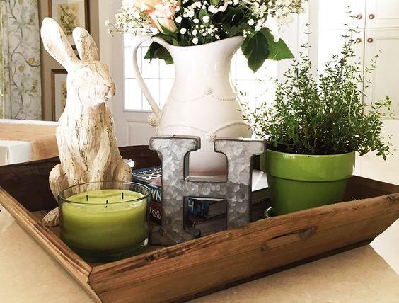 34 Diseños de centros de mesa para tu comedor | Pascua | Pinterest ...