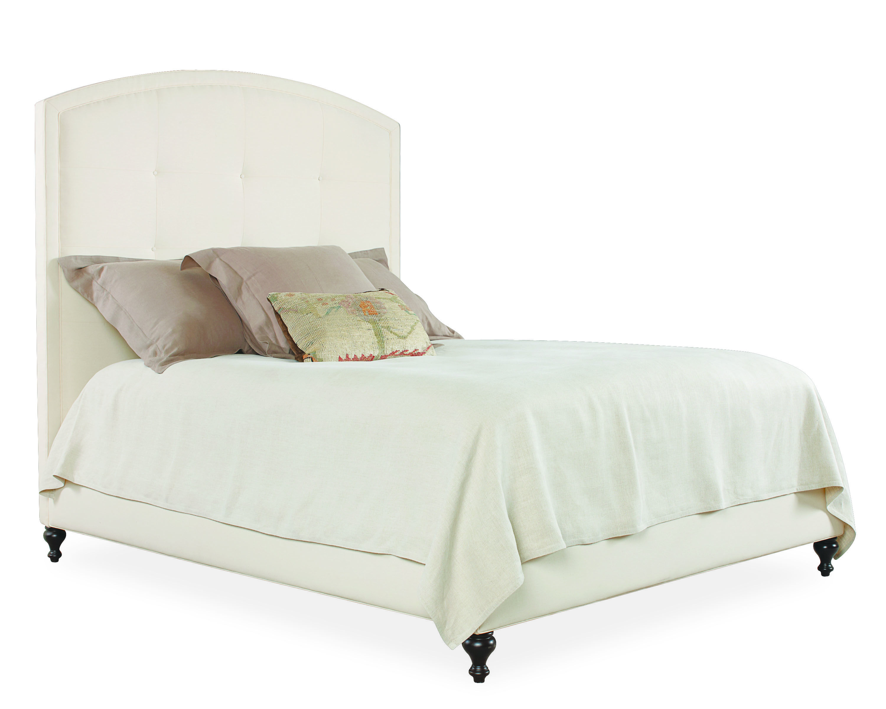 Lee Industries Arch Headboard & Rails Bed