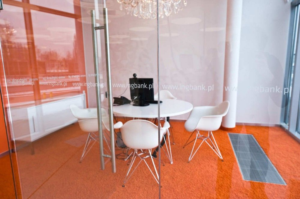 New Interior Standard For Ing Bank Outlets Medusa Industry Ing